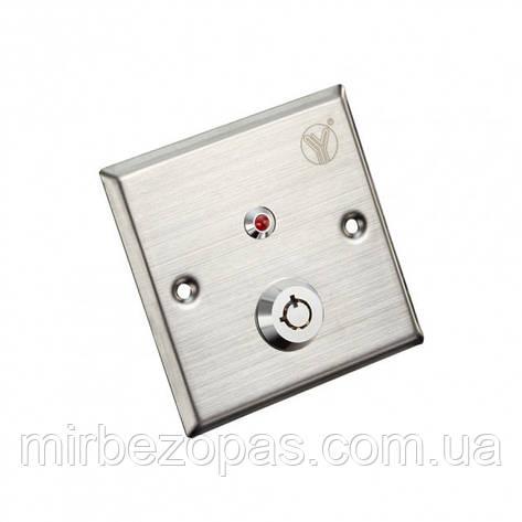 Кнопка выхода YKS-850LS для системы контроля доступа, фото 2
