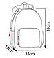 Рюкзак Travel складной трансформер нейлон, фото 4