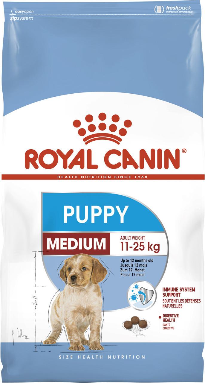 Сухой корм для щенков средних пород Royal Canin Medium Puppy 15 кг