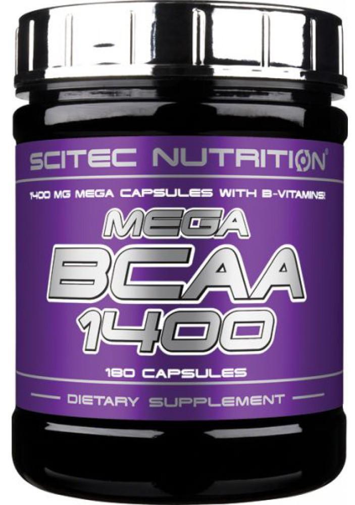 Mega BCAA 1400 Scitec Nutrition (180 капс.)