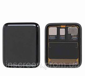 Экран (дисплей) Apple Watch 2 42mm Sport с тачскрином (сенсором) черный