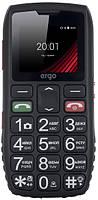 Кнопочный телефон ERGO F184 Respect DS Black Бабушкофон