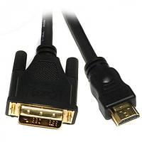 Кабель Viewcon HDMI > DVI(18+1) 3м., M/M, в блистере (VD 066-3м.)