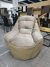 Кресло Мешок Президент Босс BOSS (ткань Велюр и эко-кожа)