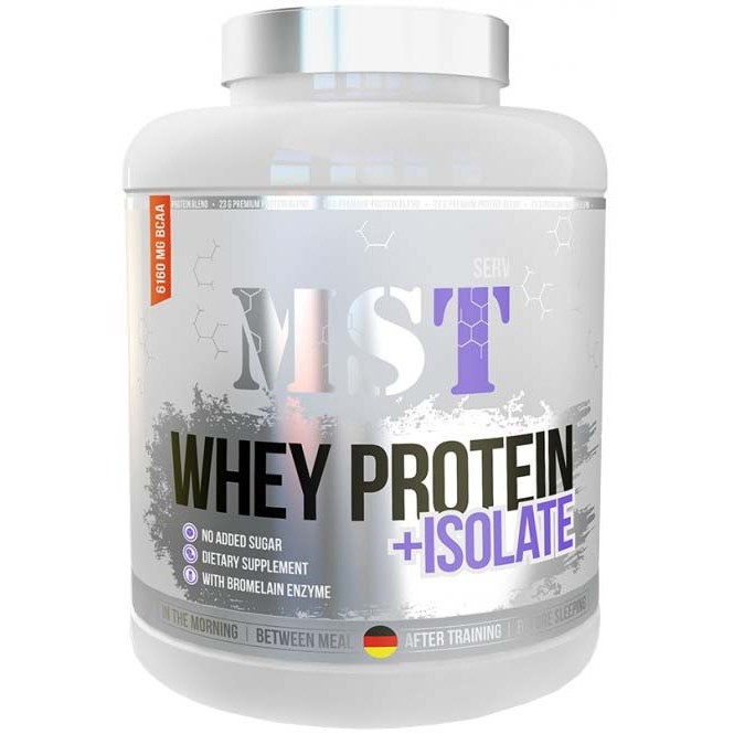 Whey Protein +Isolate MST (2100 гр.)