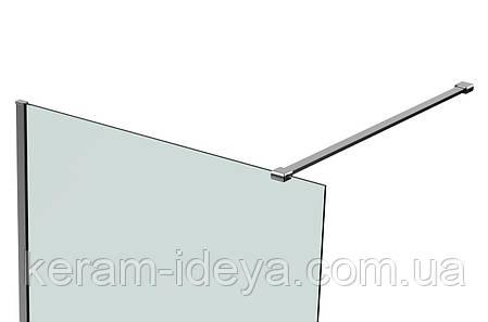 Душевая стенка Volle Walk-IN 900х1900 18-08-90 + Профиль стеновой 1900 01-01 + Держатель стекла D 0005D-100, фото 2