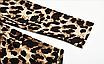 Женский леопардовый сексуальный боди, с высоким воротом и длинным рукавом EIFER Kira, фото 7