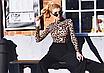Женский леопардовый сексуальный боди, с высоким воротом и длинным рукавом EIFER Kira, фото 3