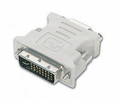 Адаптер Cablexpert DVI-A 24конт. на VGA 15конт. (A-DVI-VGA)