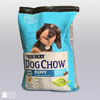 Dog Chow Puppy Small Breed корм для щенков мелких пород с курицей, 2.5 кг