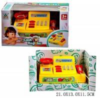 Кассовый аппарат детский LS820A2-1  товары, сканер, весы, свет., звук, на батар., в коробке 21*13*11