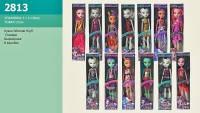 "Кукла ""Monster High"" 2813  27см, 13 видов, на шарнирах, в коробке 28*7*5см"