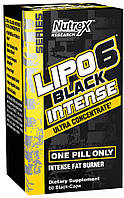 Lipo 6 Black Intense Ultra Concentrate Nutrex (60 капс.)