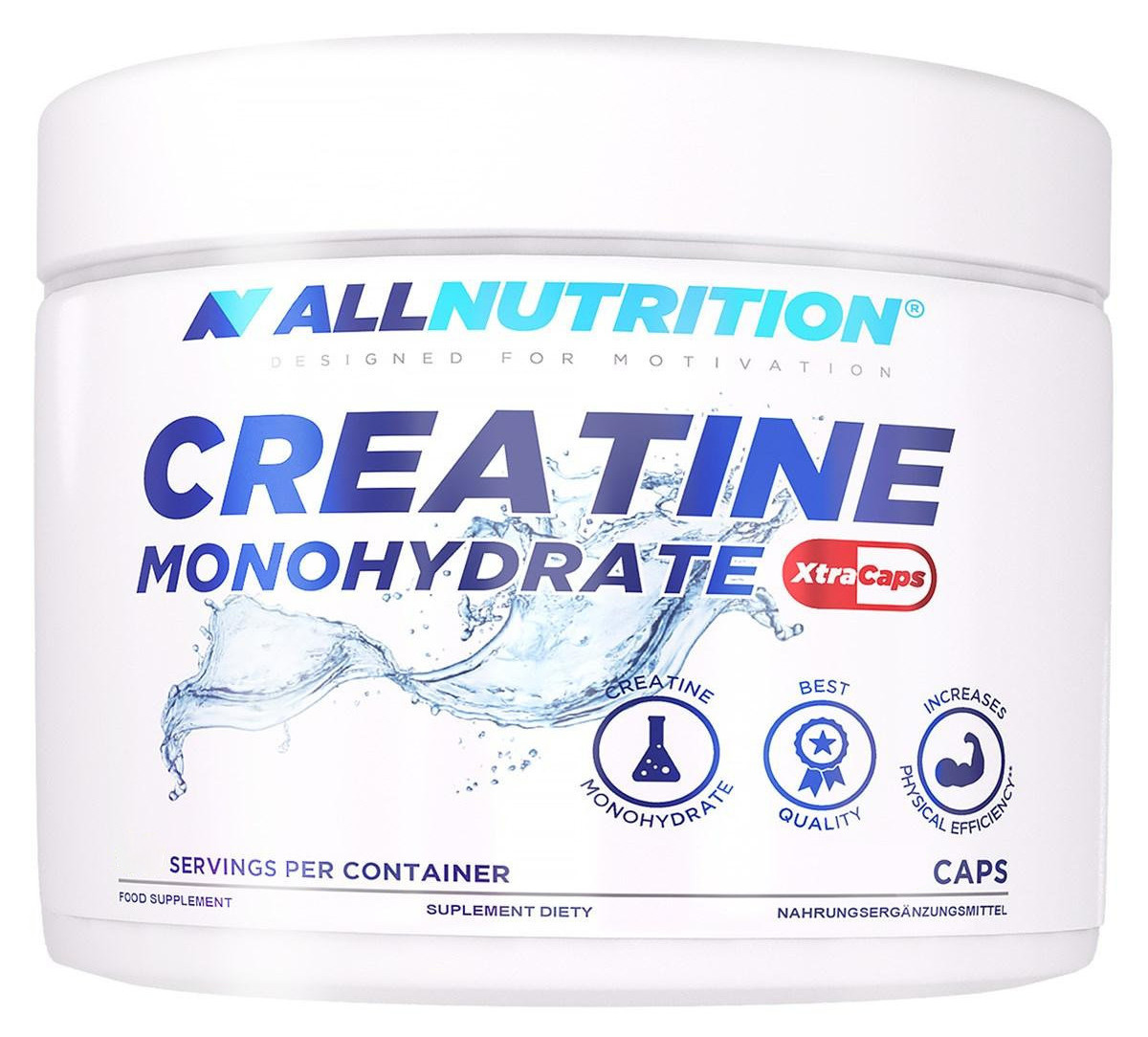 Creatine Monohydrate XtraCaps All Nutrition (400 капс.)
