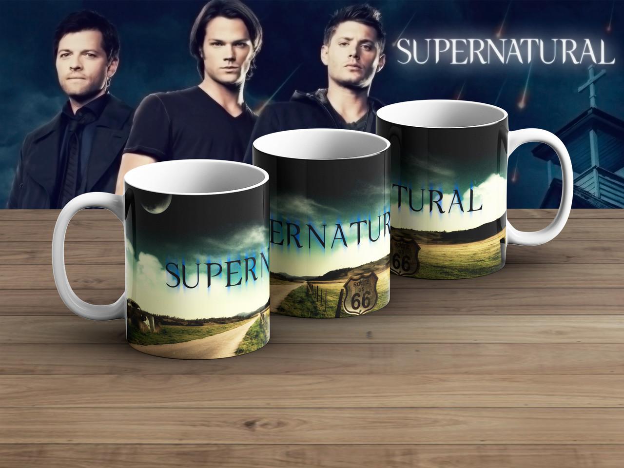 Чашка road 66 Сверхъестественное / Supernatural