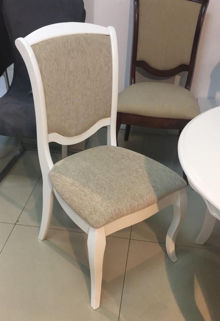 Стул обеденный деревянный Empire -EP-SC (Эмпайр) цвет  белый, Малайзия