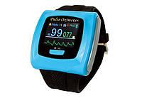 Пульсоксиметр CMS50F в виде часов с датчиком на палец, CONTEC