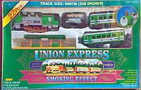 Игровой набор Железная дорога VBV Union Express зеленая (124)
