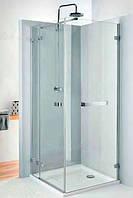 Боковая стенка с релингом Kolo Next 100 HSKX10222R03 глянцевый хром/хром, прозрачное