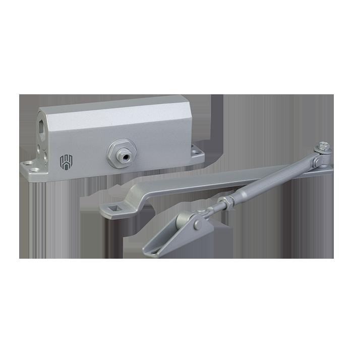 Доводчик дверной DT No.3 алюминиевый 40-65 кгс