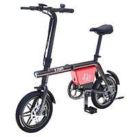 Электровелосипед Tianjin складной It's my way EB001 черный  (2672)