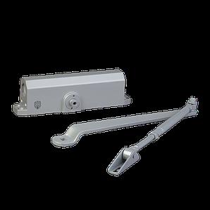 Доводчик дверний DT No.5 алюмінієвий 80-120 кгс