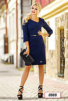 Платье 12-0988 - т.синий: XL XXL 3XL 4XL, фото 1