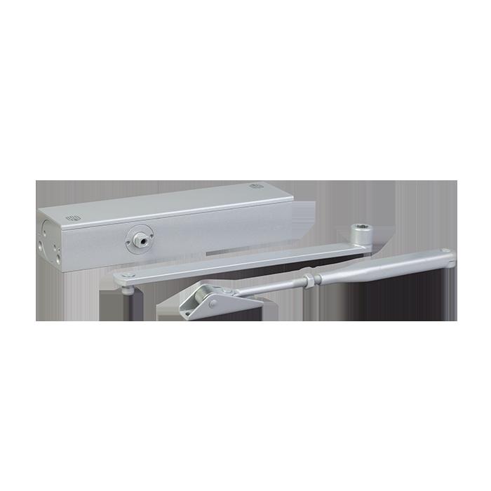 Доводчик дверной DT No.5+ алюминиевый 80-120 кгс