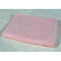 Плед-простыня - Махра (100% хлопок) - Розовый