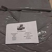 """Тент Газель стандарт 1- но  сторонний нового образца 8 люверсный усил серый 400г/м² """"БелТЕНТ"""" (покупн. ГАЗ)"""