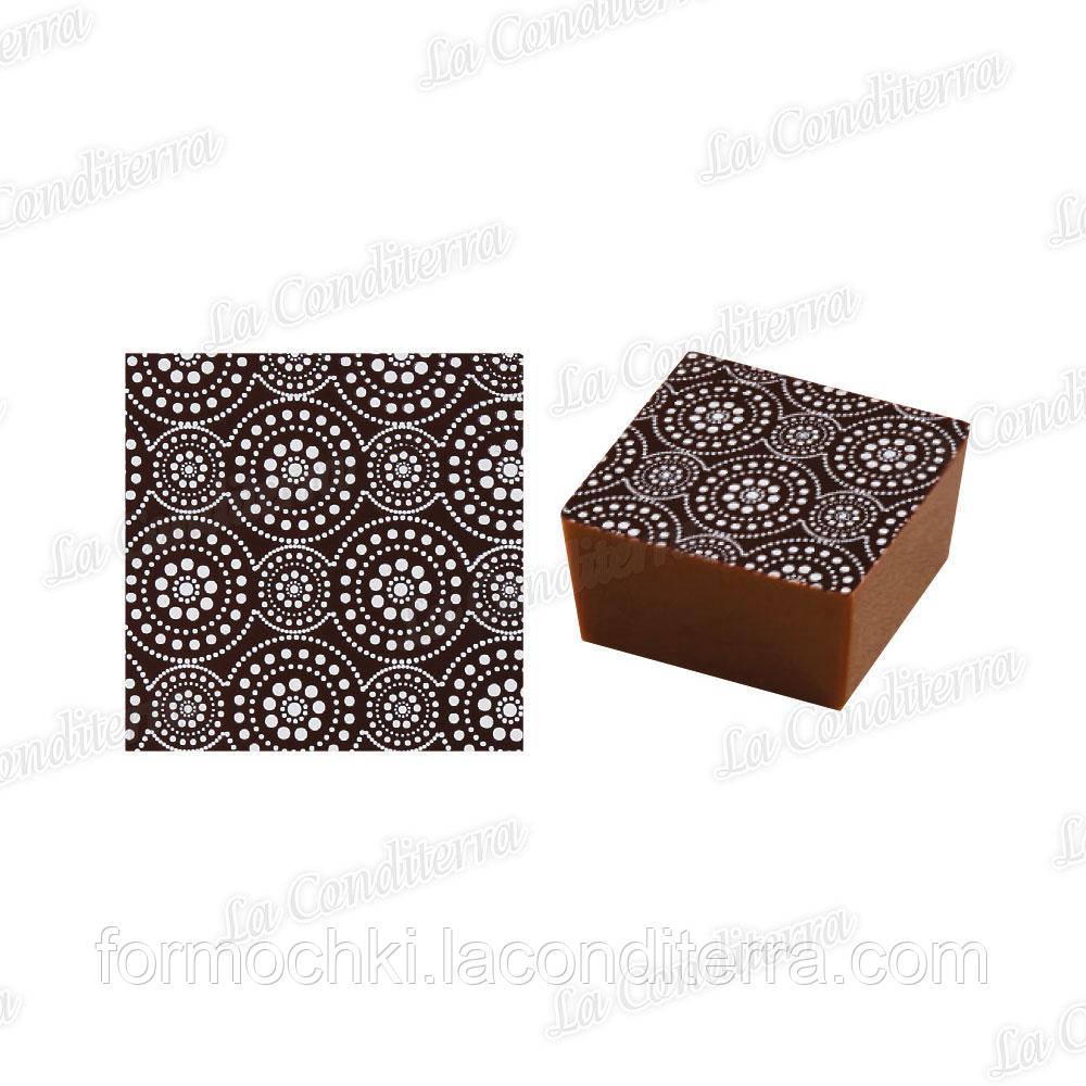 Трансферы для шоколада PAVONI SD104 (5 шт.)