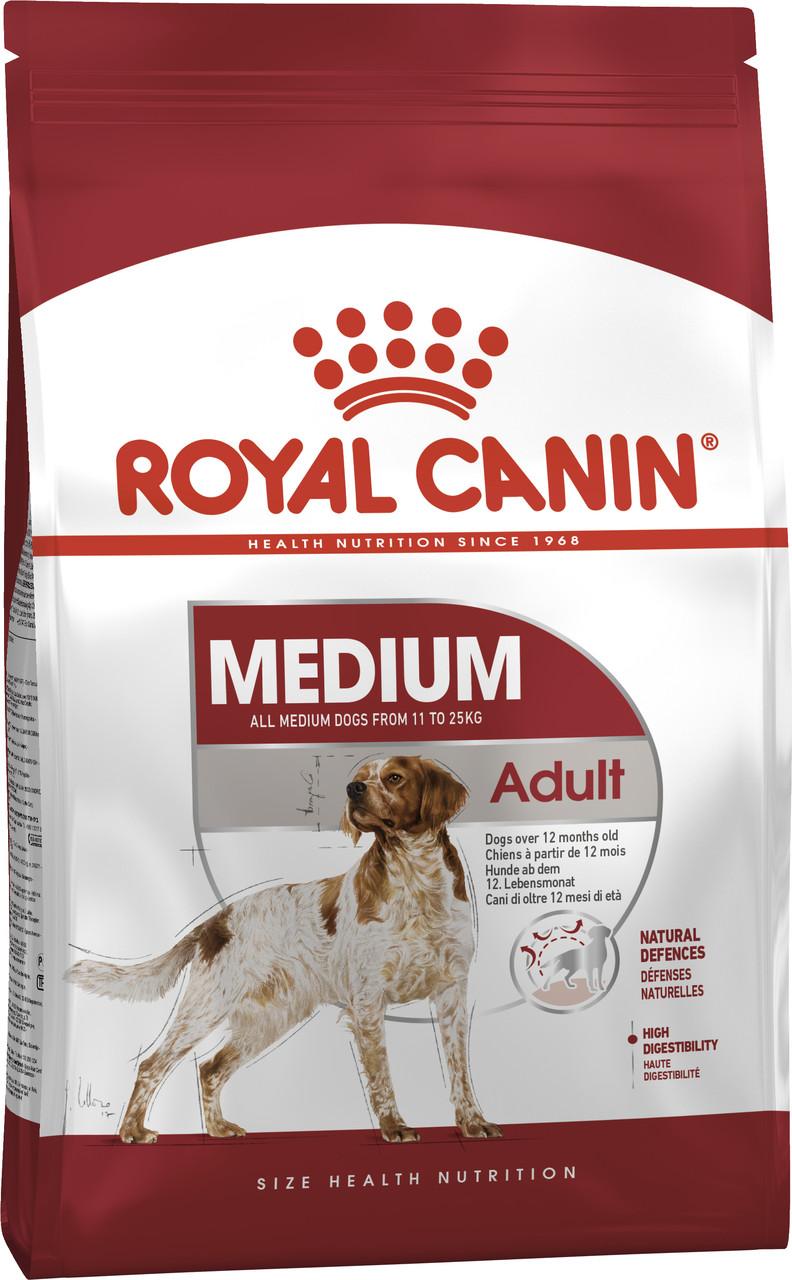 Сухой корм для собак средних пород Royal Canin Medium Adult 1 кг
