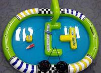Радиоуправляемые водные мотоциклы Speed Boat Racing с надувным бассейном