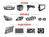 Радиатор AUDI A6 (4A2, C4) / AUDI A6 Avant (4A5, C4) / AUDI 100 (4A2, C4) 1990-1997 г., фото 2