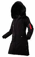Оригінальна жіноча зимова куртка N-5B Tardis W Airboss 175000803128 (чорна)