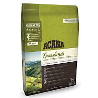 Корм Acana Grasslands Dog Акана Грасслендс Дог для собак всіх порід з ягням качкою і рибою 6  кг
