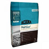 Сухой корм Acana Wild Coast Dog Акана Вайлд Кост для собак всіх порід зі свіжою рибою 17 кг