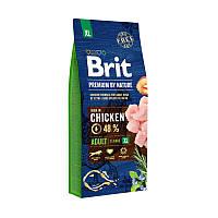 Корм Brit Premium by Nature Adult XL Брит Преміум Едалт дог XL для собак 15 кг