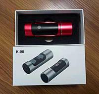 Беспроводные Bluetooth наушники Wireless Earbuds K08  красные