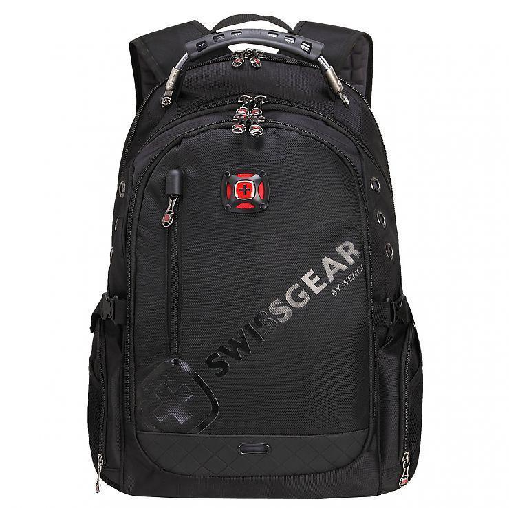 Місткий рюкзак SwissGear, свисгир. Чорний. 35L. 8816 black
