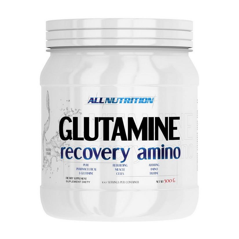 Глютамин All Nutrition Glutamine (500 г) алл нутришн буз вкуса