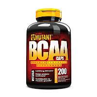 Аминокислоты Mutant Mutant BCAA caps (200 капс) мутант бцаа
