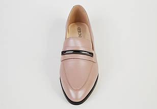 Туфли кожаные визон 683, фото 3