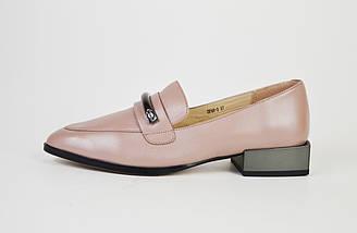 Туфли кожаные визон 683, фото 2