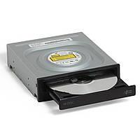 ✲Оптический привод Hitachi-LG DVD+/-RW GH24NSD5 SATA Black Bulk внутренний для ПК