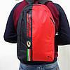 Спортивный, городской рюкзак Puma Scuderia Ferrari, пума. Феррари. Красный, фото 10