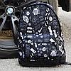 Классный рюкзак с принтом Nike. Для путешествий, тренировок, учебы / PN1016, фото 9