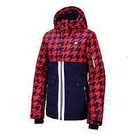 Горнолыжная куртка Rehall Bellah-R Snowjacket Womens Hounstooth Navy Red 2020, фото 1