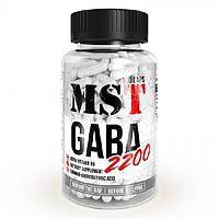 MST Sport Nutrition, Витамины GABA 2200, 100 капсул