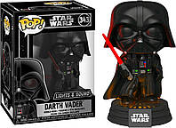 Фигурка Funko Pop Фанко Поп Звездные войны Дарт Вейдер Star Wars Darth Vader 10 см SW DW 343